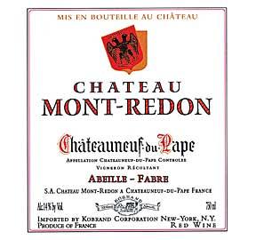 Château Mont-Redon, Châteauneuf-du-Pape
